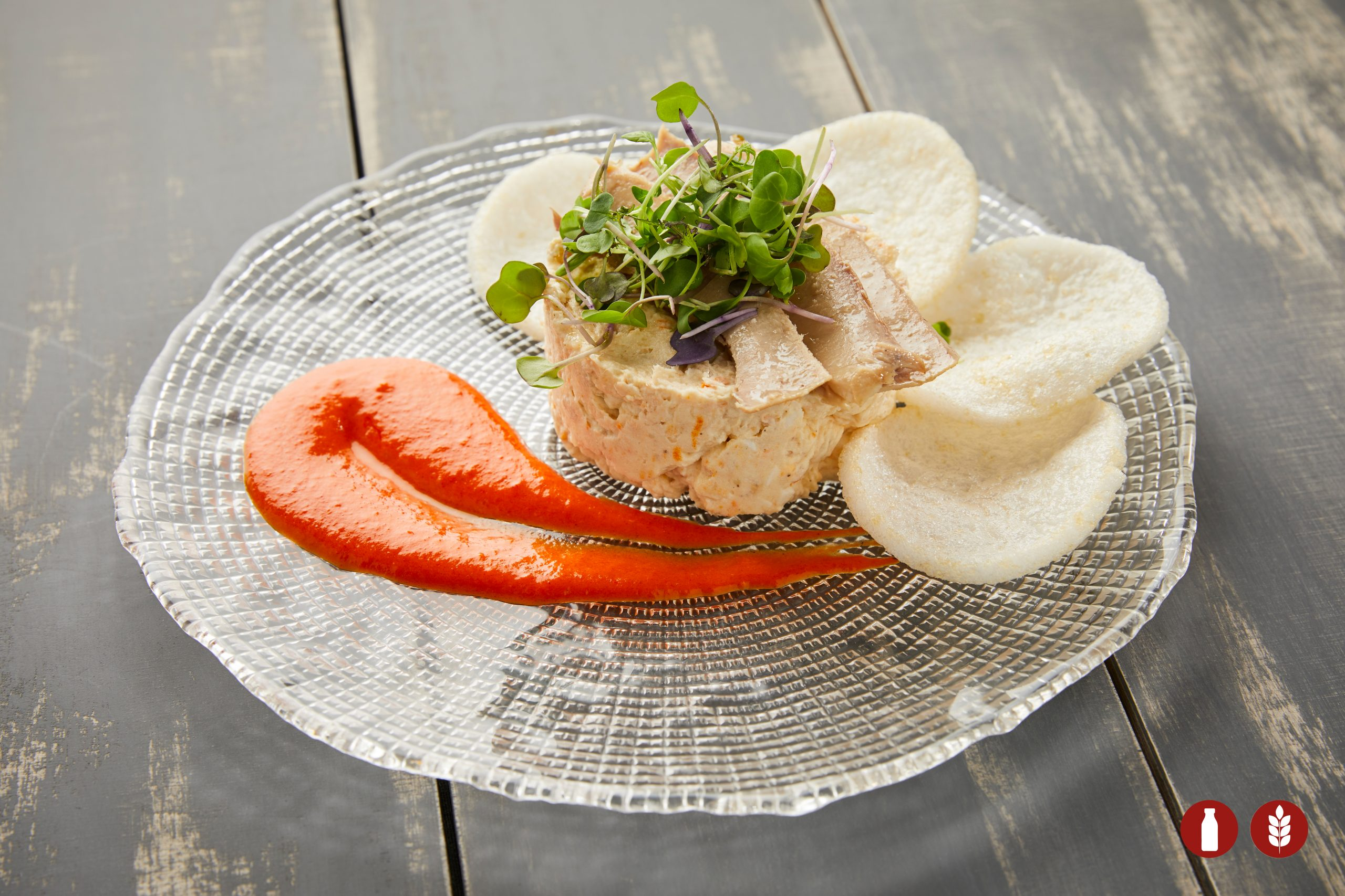 POTATO SALAD WITH TUNA BELLY